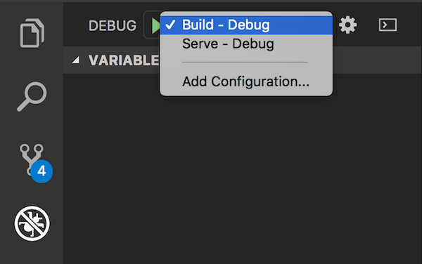 VSCode debug window